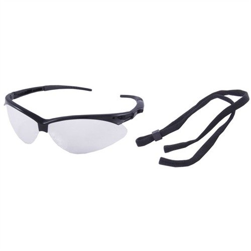 Clear Protective Shooting Glasses Black