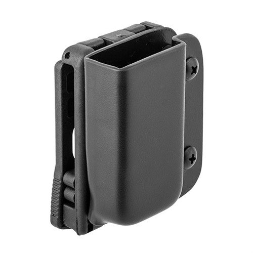 Single Mag Pouch-Glock 43-Black-RH-Tek Lok
