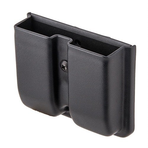Double Mag Pouch-S&W M&P Shield-Black-Right Hand-Tek Lok