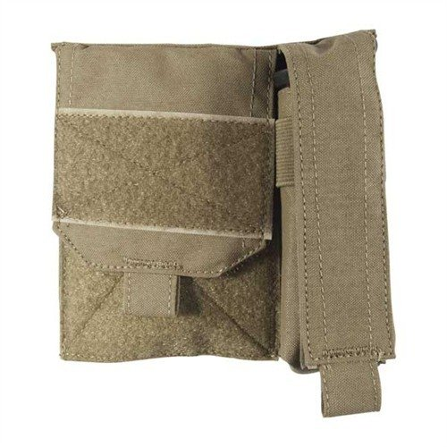 General Admin Pouch w/Flashlight Pouch, Coyote