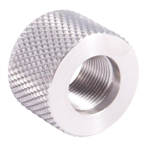 .920 Bull Thread Protector 1/2-28 Stainless Steel
