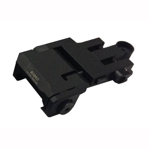Flip-Up LowRider BUIS Rear Sight Black