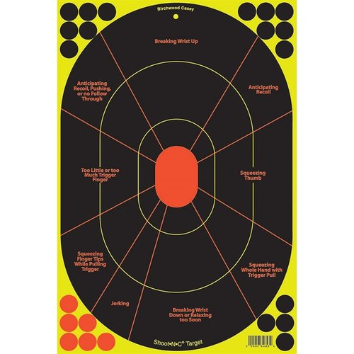 "Shoot-N-C 12""x18"" Handgun Trainer Target-5 Pack"