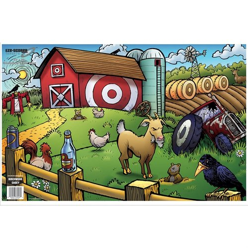 "Eze-Scorer 23""x35"" Broadside of a Barn Target-5 Pack"
