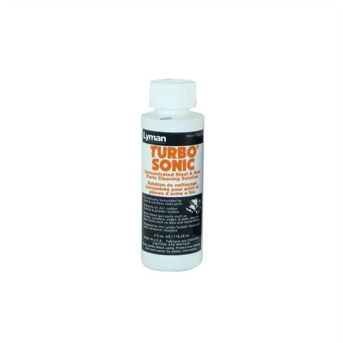 Lyman Turbo Sonic Steel Solution, 4 oz.