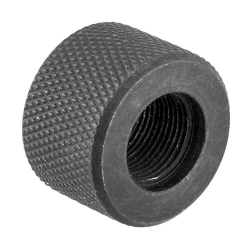 Heavy Barrel .750 Thread Protector 1/2-28 Black