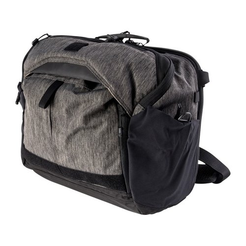 EDC Courier Messenger Bag-Heather Black