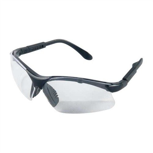 Clear Origin Shooting Glasses Black