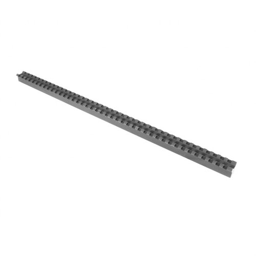 "16"" Long Black Extrusion w/Slots"
