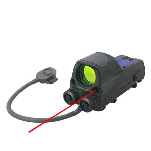 MOR Reflex Sight w/Red Laser 4.3 MOA Dot Reticle