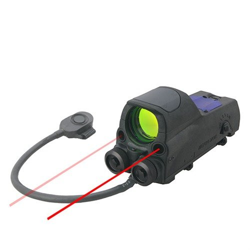 MOR Reflex Sight w/Red & IR Laser 4.3 MOA Dot Reticle