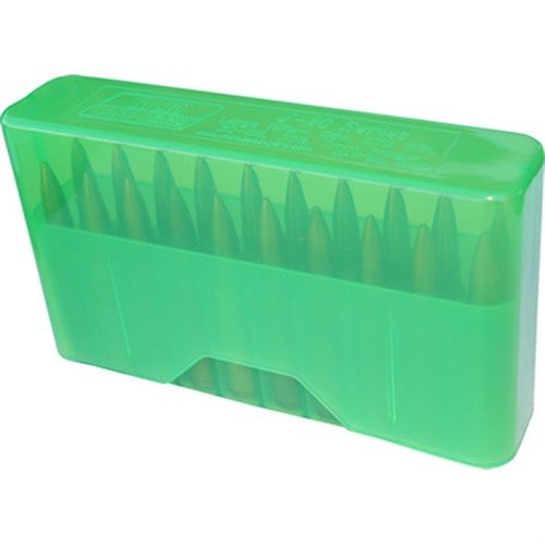 Slip Top Ammo Boxes Rifle Green 22-7.62 X 39mm 20