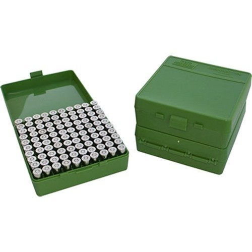 Ammo Boxes Pistol Green 9mm-380 100
