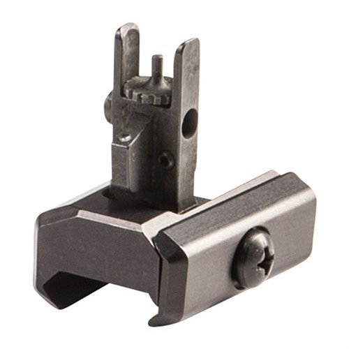 Flip-Up Front Sight Steel Black