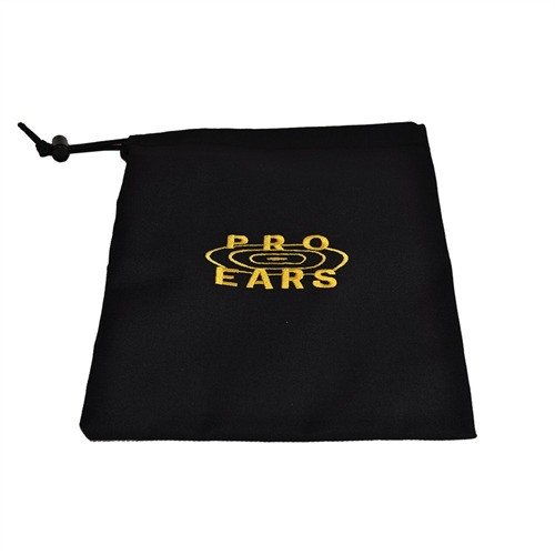 Pro Ears Carry Bag Black w/Yellow