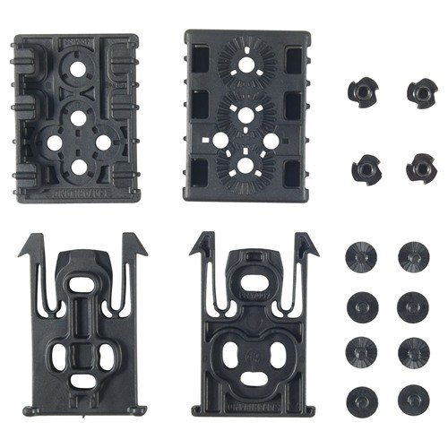 Black Equipment Locking System Kit