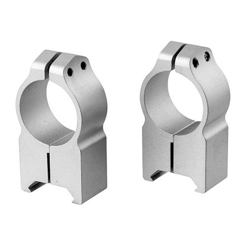 Maxima Fixed Rings 1 inch Extra-High Silver